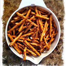 Photo: Healty snack? The old good pretzels! #gplus - via Instagram, http://instagr.am/p/JusoweJfkL/