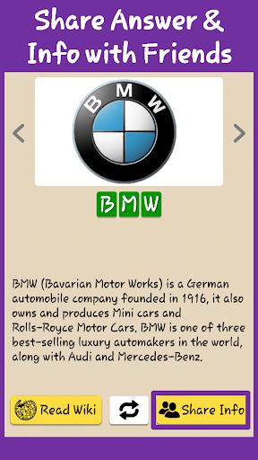 Best Car Brands Logo Quiz HD: Guess Car Symbols 0.8 screenshots 6