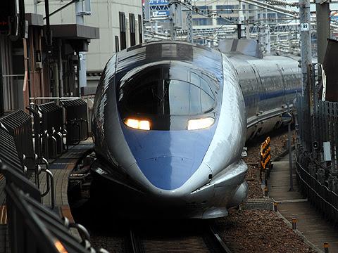 JR西日本 500系新幹線「のぞみ」 名古屋にて