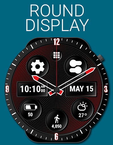 Spin Watch Face (by HuskyDEV) 1.03 screenshots 2