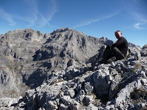 Photo: Un descanso, detrás Palanca, Llambrión, Torre Blanca