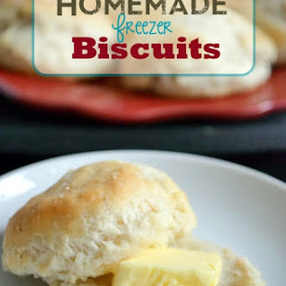 Homemade Freezer Biscuits