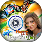 Republic Day Video Maker 2018 : Slideshow Maker