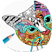 Cat Coloring Pages for Adults icon