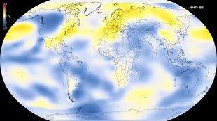 Klima-Weltkarte.