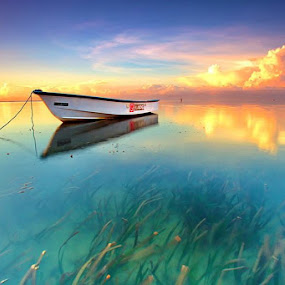Alone by Agoes Antara - Transportation Boats