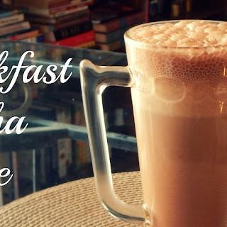 Easy Breakfast Mocha Shake.
