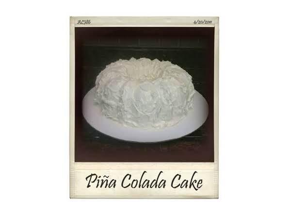 Piña Colada Cake Recipe