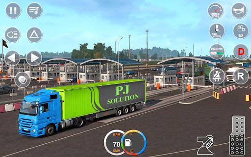 Indian Mountain Heavy Cargo Truck : Euro Truck Sim apkmr screenshots 12