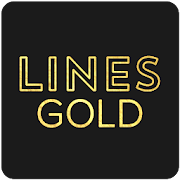 Lines Gold - Icon Pack (Pro Version)
