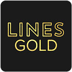 Lines Gold - Icon Pack (Pro Version) 3.1.1 (P)