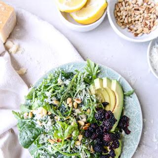 Arugula Kale Reggiano Salad