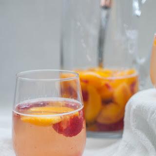 Peach Raspberry Sangria.