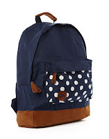 Mi-pac Backpack Polka Navy