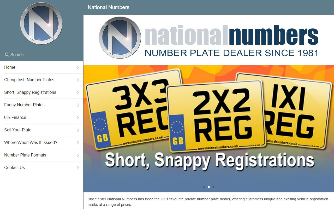 Number Plates- screenshot