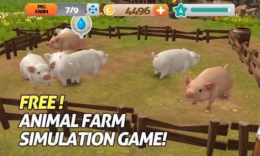 養豚場 豚 Pig Goat farm 3D