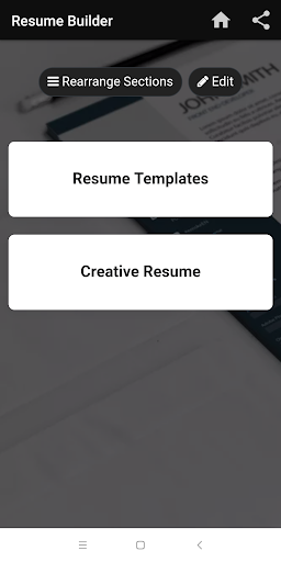 Resume builder Free CV maker templates formats app 9.3 screenshots 17