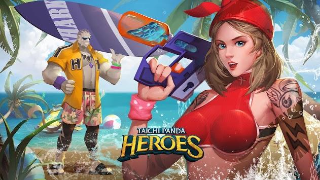 panda taichi: héros apk screenshot