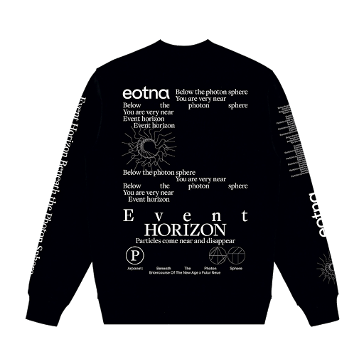 Event Horizon 1 - EOTNA x Futur Neue - sweat shirt