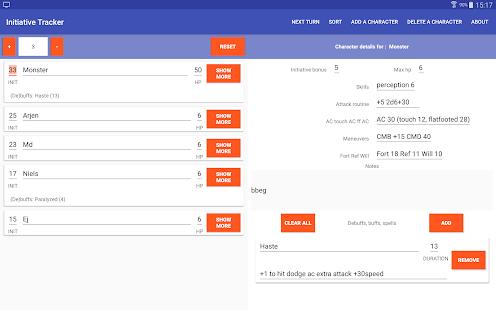 App Rekijan's Initiative Tracker APK for Windows Phone