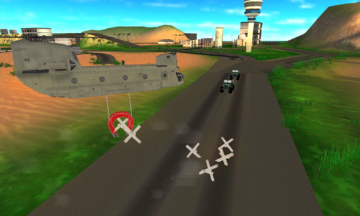 Helicopter Flight Simulator 3D- screenshot