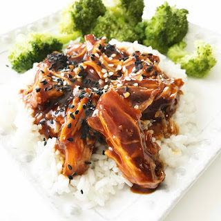 Instant Pot Asian Sweet Chili Chicken.