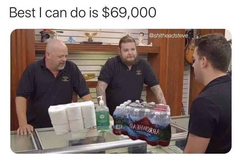 pawnstars coronavirus meme