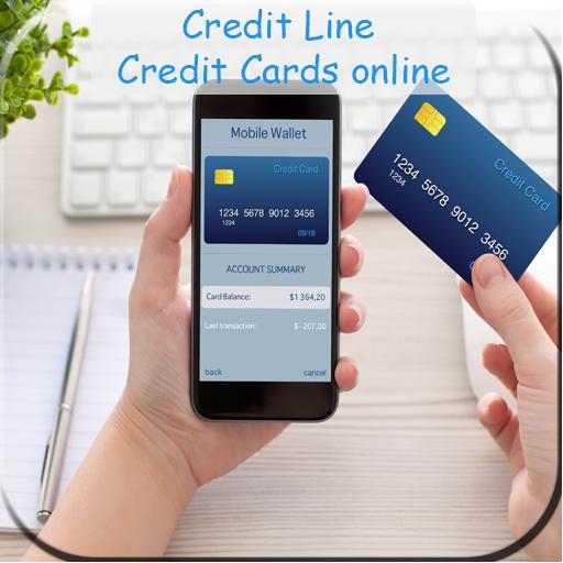 Credit Line Credit Cards online