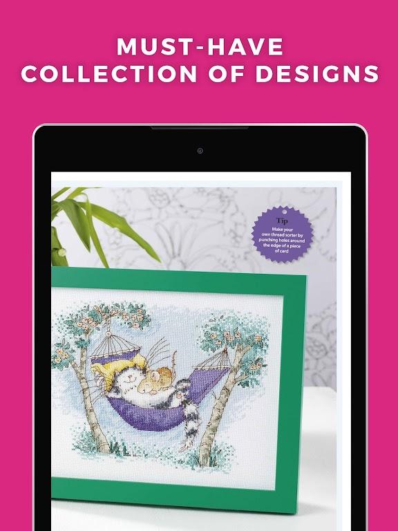 Ultimate Cross Stitch Magazine - Stitching Pattern  poster 5