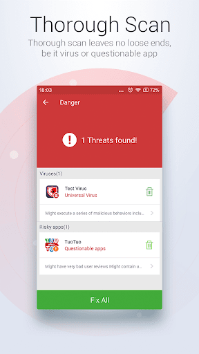 Antivirus Free - Virus Cleaner screenshot 3