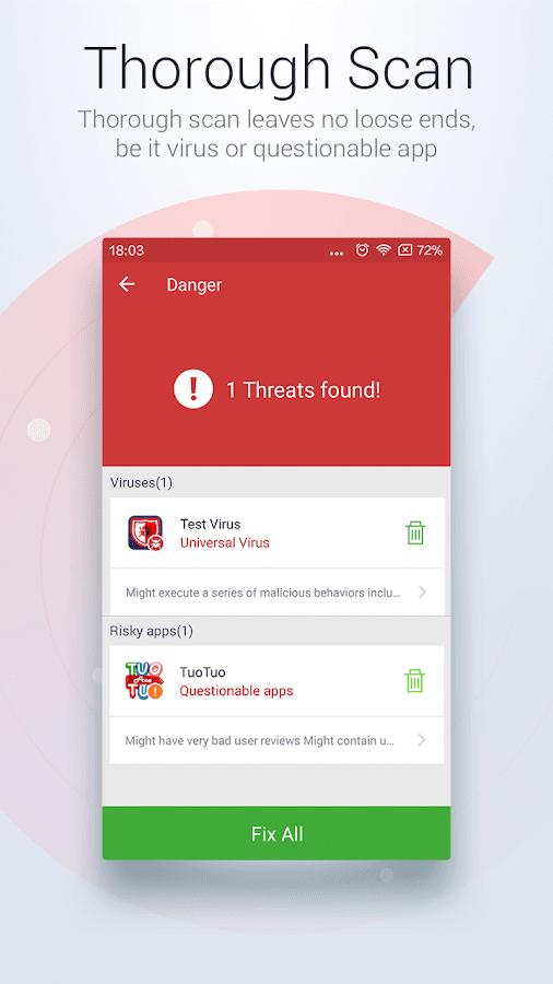 Screenshots of Antivirus Free-Mobile Security for iPhone
