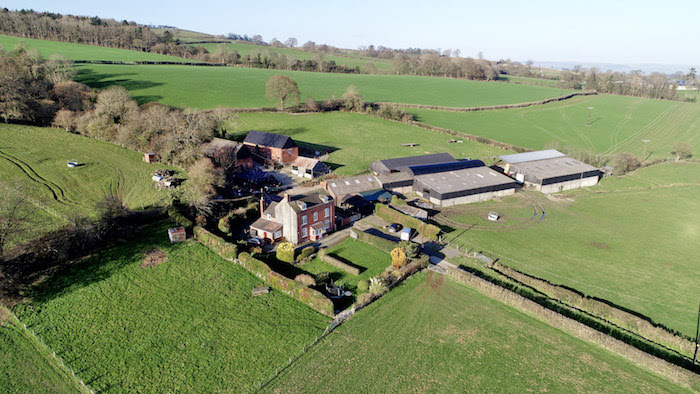 Sarn farm to be sold at auction