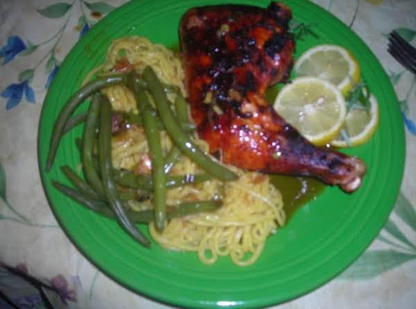 Roast Chicken With Orange-teriyaki Sauce
