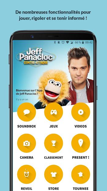 Jeff Panacloc et Jean-Marc Android App Screenshot