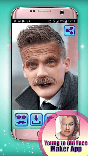 Young to Old Face Maker App 1.0 screenshots 4
