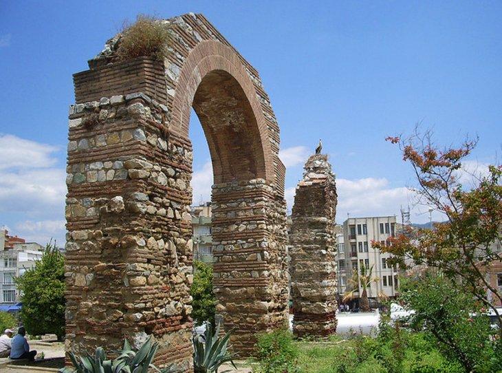 Efes Antik Kenti Bizans Su Kemerleri