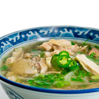 Phở Gà (Vietnamese Chicken Noodle Soup).