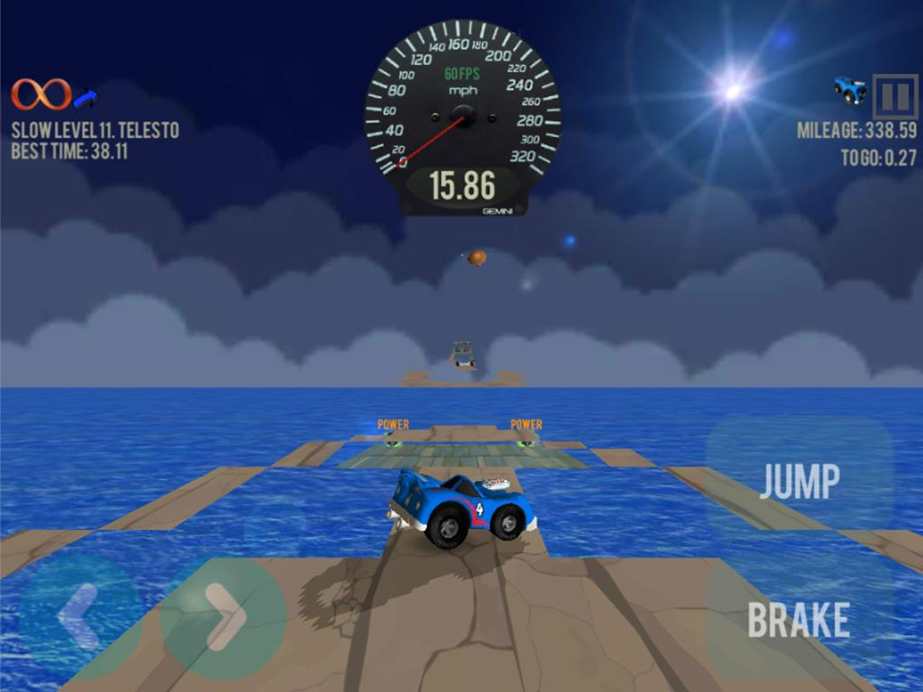 Little Jumping Stunt Car Race- screenshot