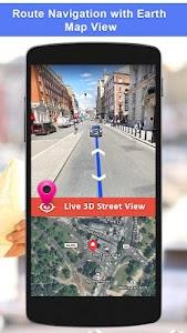 GPS Satellite - Live Earth Map & Voice Navigation 2.5