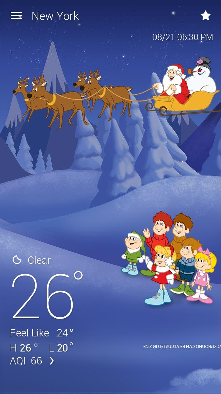 Скриншот Snowman  GO Weather EX