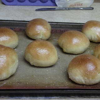 Texas Roadhouse Rolls with Cinnamon Butter.