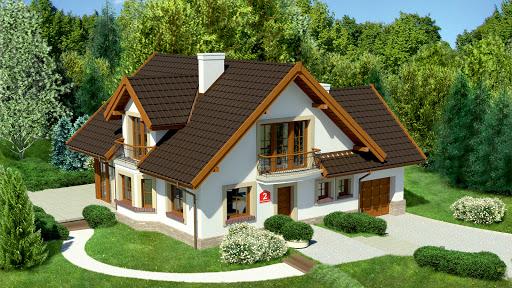 projekt Dom przy Pomarańczowej 2