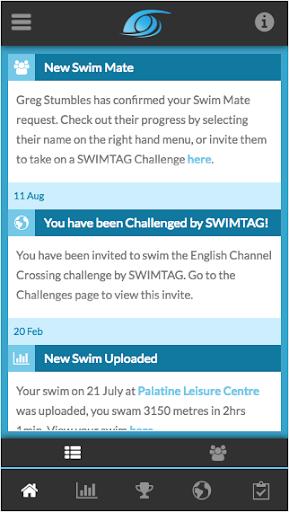 SWIMTAG screenshot 1