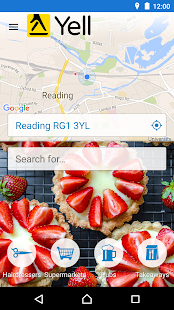 Yell Local Search- screenshot thumbnail