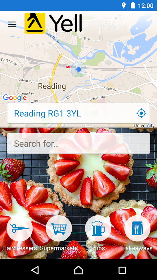 Yell Local Search- screenshot