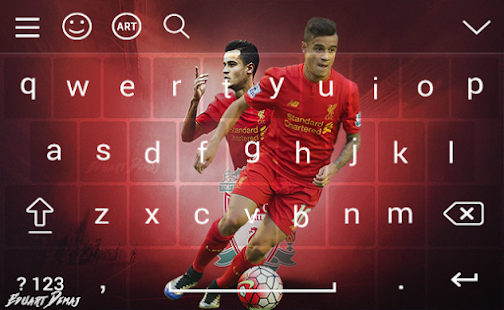 Keyboard for Philippe Coutinho  2018 - náhled