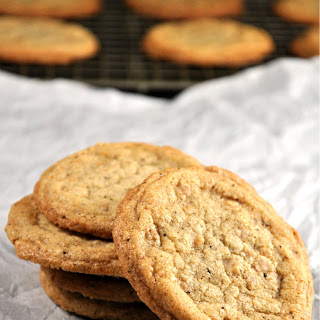 Brown Butter Toffee Chip Cookies.