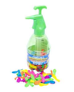 Vattenballonger i flaska, grön