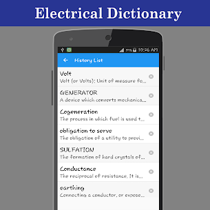 Electrical Dictionary offline App Download for Android 4