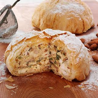 Chicken and Almond Basteeya.